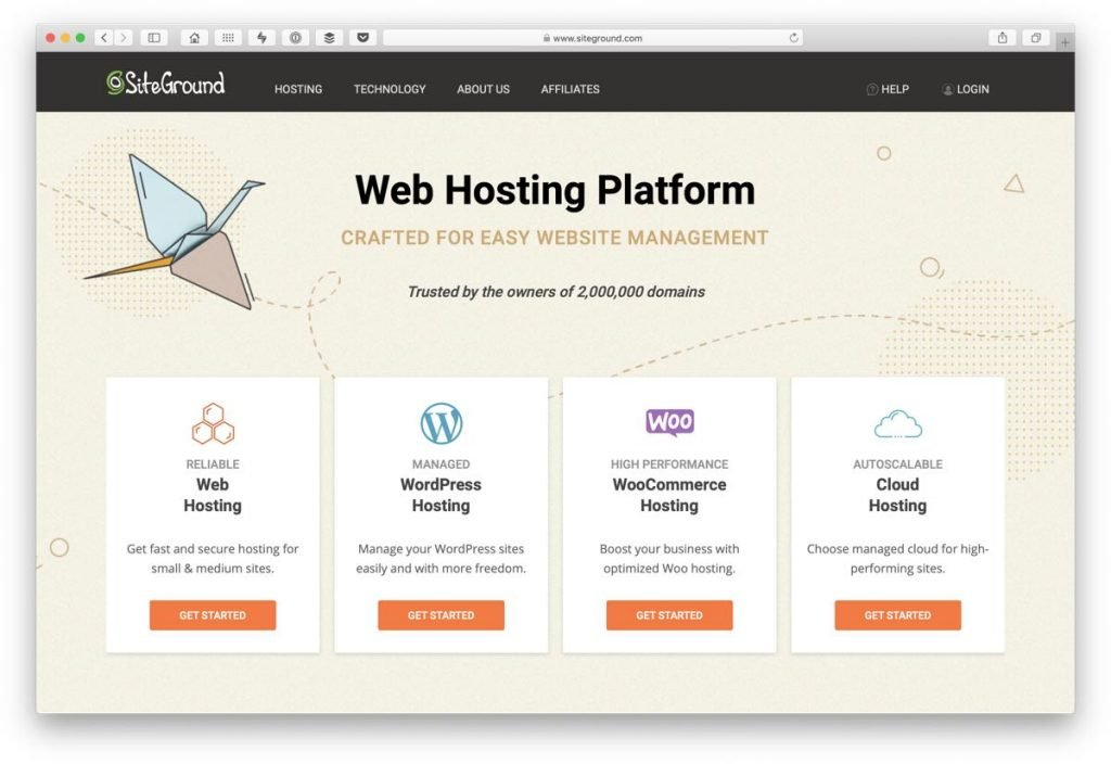Quality hosting for WordPress