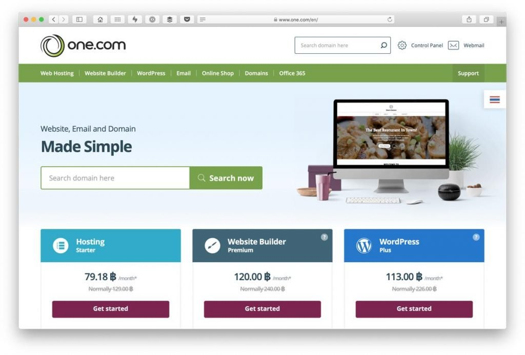 Simple hosting for beginner Web Designers and website owners